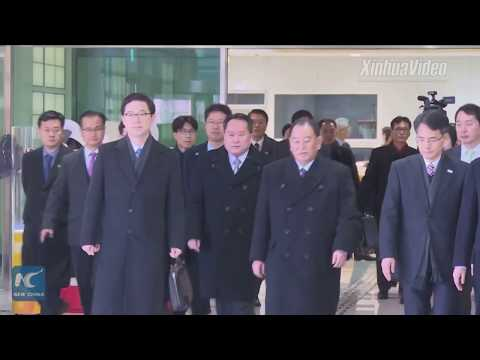 High-ranking North Korean delegation in S. Korea for Olympic closing ceremony