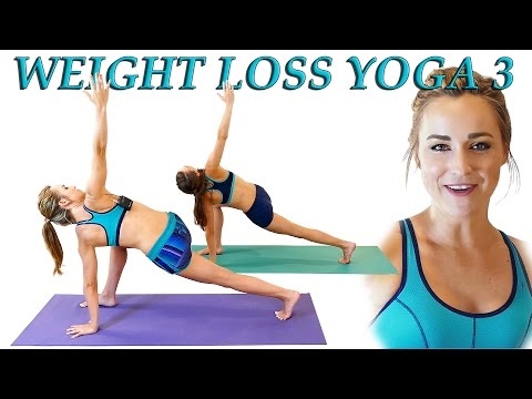Yoga Weight Loss Challenge Day 3! Fat Burning 20 Minute Workout Beginners & Intermediate