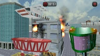 ► Futuristic Gyroscopic Bus City Fire Rescue Android Gameplay