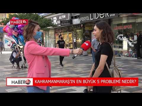 KAHRAMANMARAŞ SOKAK RÖPORTAJI - HABER46
