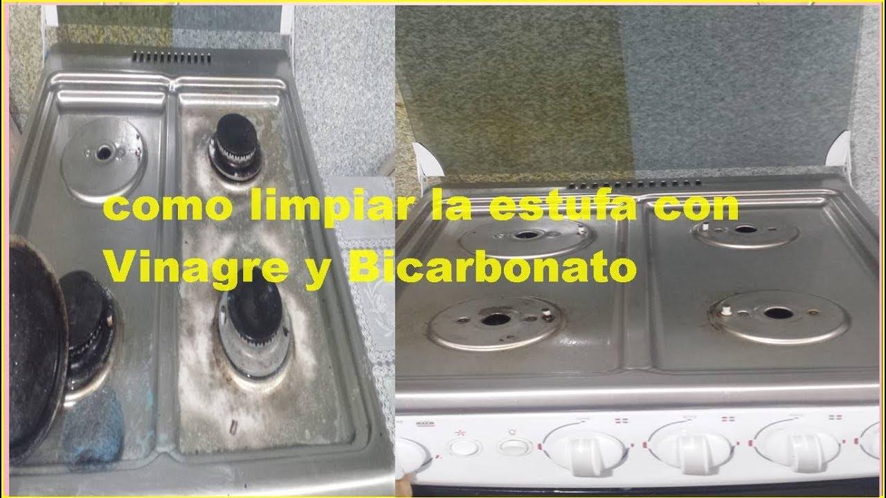 Como limpiar la estufa con bicarbonato y vinagre youtube - Como limpiar la lavadora con vinagre y bicarbonato ...