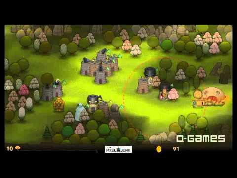 PixelJunk Monsters gameplay part1 |