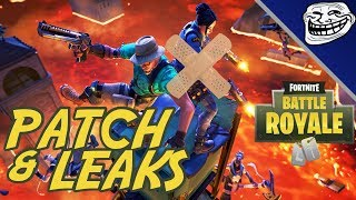 Fortnite Patch & Leaks: Health Siphon Removed, Material Limit Lifted... Most Hated Update Ever!!