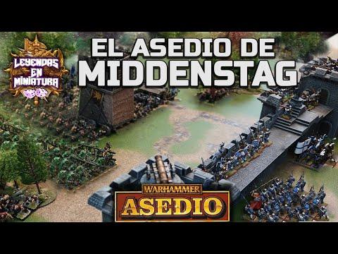 el-asedio-de-middenstag:-imperio-vs-caos-|-warhammer-fantasy-|-informe-de-batalla-asedio