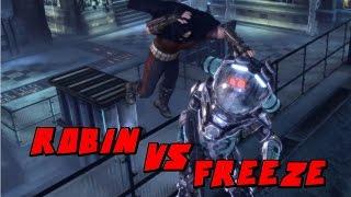 Batman Arkham City Robin VS Mr Freeze Mod