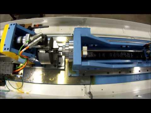 gun barrel rifling machine