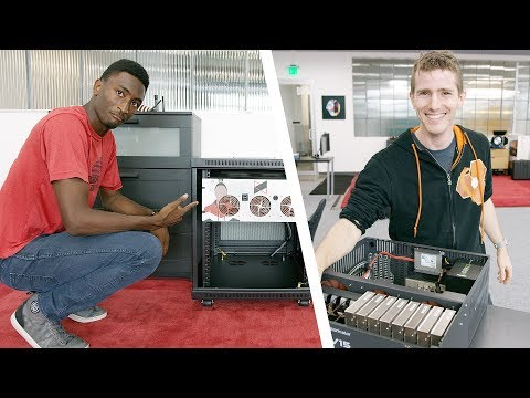 Adding 140 TERABYTES to the Studio with Linus!