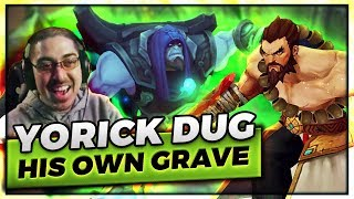 THIS YORICK DUG HIS OWN GRAVE! | UDYR TOP VS RICK - Trick2G