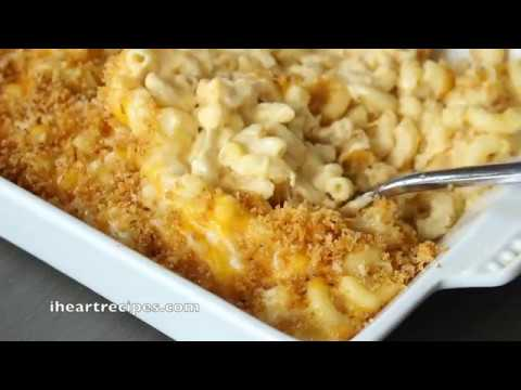 Southern Baked Macaroni & Cheese Casserole - I Heart Recipes