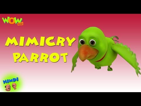Mimicry Parrot -  Motu Patlu in Hindi WITH ENGLISH, SPANISH & FRENCH SUBTITLES thumbnail