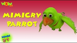 Mimicry Parrot -  Motu Patlu in Hindi WITH ENGLISH, SPANISH & FRENCH SUBTITLES