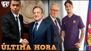 PONEN FECHA a la LLEGADA de MBAPPE al REAL MADRID   NUEVO FICHAJE OFICIAL del BARCELONA