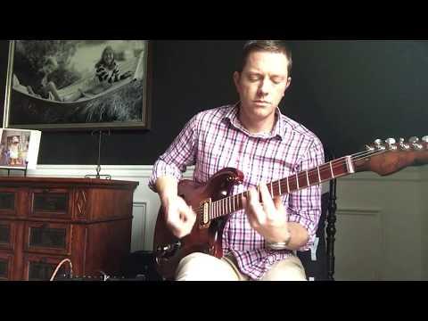 Coyle custom guitars Model R redwood/maple semi-hollow