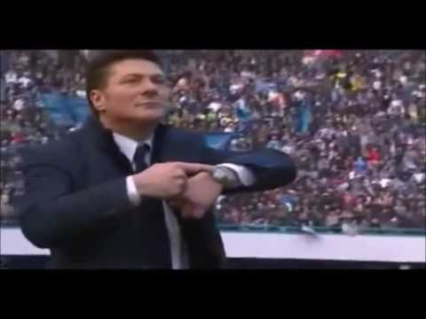 One hour of Walter Mazzarri touching his watch