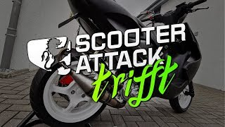 Scooter-Attack trifft Philip und seine Weihnachtstunerei Aerox + Piaggio Bravo + Vespa thumbnail
