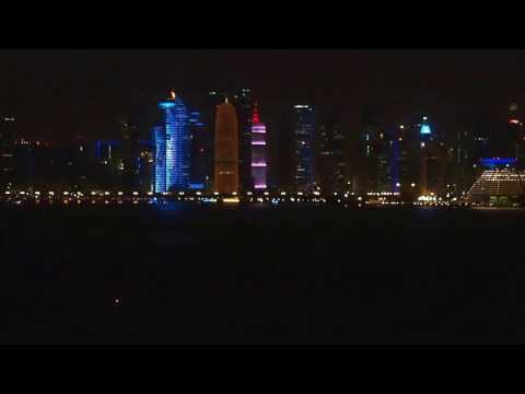 MSC Fantasia Qatar Doha sailaway 12012017
