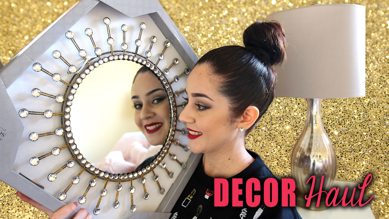 Room decor haul 2017 homegoods tj maxx ross for Room decor ross