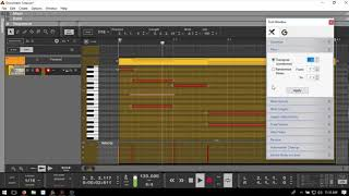 Learn Reason 10 | Quick Tip #4 | Transposing MIDI Notes