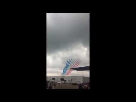 Queens Birthday flyover at R.A.F Northolt Open Day 14th June 2014