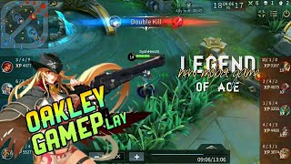 LEGEND OF ACE - NEW MOBA GAME!  OAKLEY GAMPLAY!