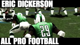 ALL PRO FOOTBALL 2K8 - ERIC DICKERSON IS NICE - still better then madden 16