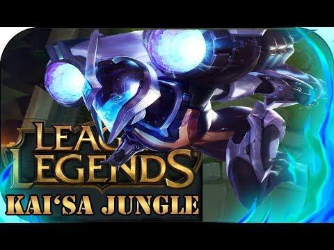 BEAST!!! KAI'SA JUNGLE 🎮 League of Legends A-Z Gameplay Tomek