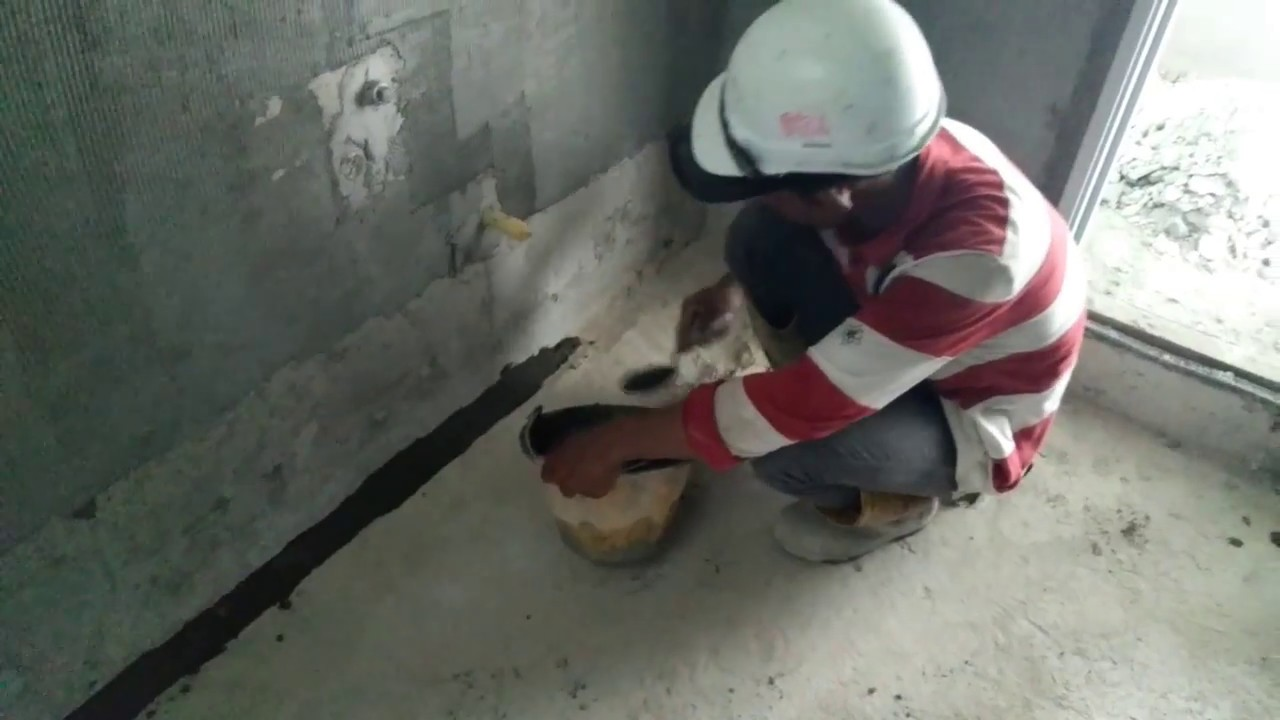 How to do waterproofing (Bituminous Coating)