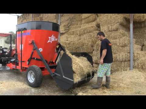 TMRStarV2 Vertical TMR Mixer Wagons