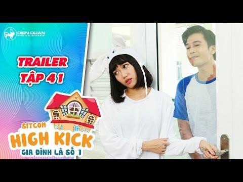 Gia đình là số 1 sitcom   trailer tập 41: Diệu Nhi bối rối gọi điện cho Quang Tuấn trong cơn say