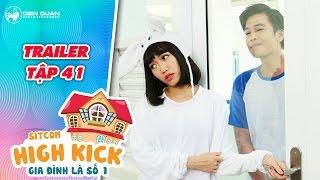 Gia đình là số 1 sitcom | trailer tập 41: Diệu Nhi bối rối gọi điện cho Quang Tuấn trong cơn say