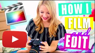 How I Film and Edit My YouTube Videos!