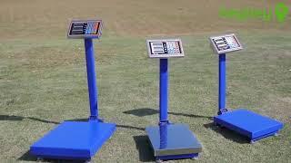 150kg/300kg Electronic Digital Platform Scale Computing Shop Postal Scales Weight Blue