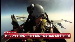 Rus uçaklarından ikinci taciz...