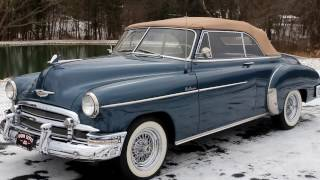 1950 Chevrolet Cabriolet Deluxe! Pristine Restoration! Such a Beautiful Automobile!!