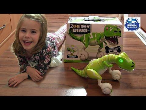 Zoomer Dino Boomer - Hightech-Dinosaurier | Spin Master ♥ Review & Vorführung - Deutsch