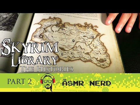 Soft-Spoken ASMR: Skyrim Library Vol. 1 - The Histories Part 2