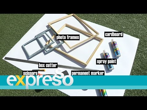 Builders DIY with Zoë Brown: Wedding Photo Booth Frames