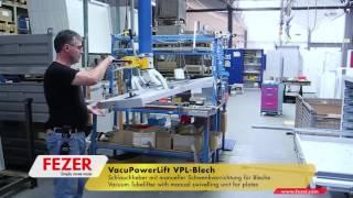 Вакуумный манипулятор загружает ящики стеллажа хранения(Вакуумные рукавные подъемники (манипуляторы) VacuPowerLift VPL грузоподъемностью до 200 кг. Для перемещения негабар..., 2016-05-05T04:59:39.000Z)