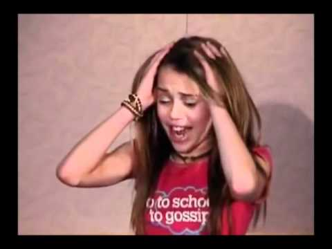 Miley Cyrus - Hannah Montana Audition Tape