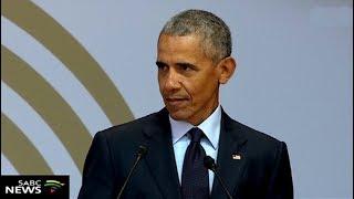 Video Former U.S. Pres Obama has delivered the 16th Mandela Lecture download MP3, 3GP, MP4, WEBM, AVI, FLV Juli 2018