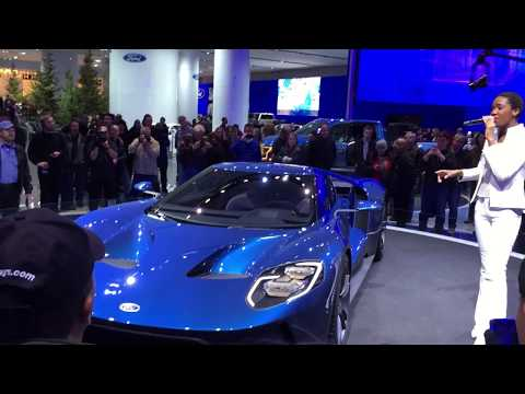 2017 Ford GT Concept Car