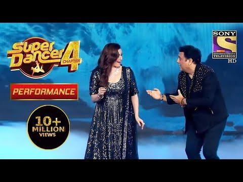 Govinda और Neelam Ji ने जीता सबका दिल   Super Dancer 4   सुपर डांसर 4