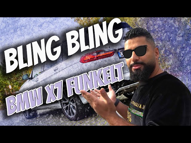 BLING BLING beim BMW X7 - Swarovski überall