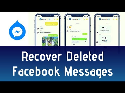 How To Recover Deleted Facebook Messages | Find & Restore Deleted Messages