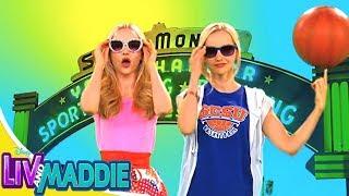 Лив и Мэдди: Калифорния - Сезон 4 серия 01 - Типа-сёстры-Руни l Игровые сериалы Disney
