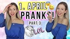 1. April Scherze leicht zum nachmachen 😆 8 Pranks zum 1. April 😅2020 - Cali Kessy