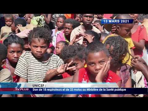 JOURNAL DU 13 MARS 2021 BY TV PLUS MADAGASCAR
