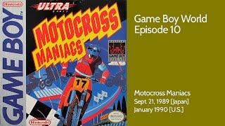 Game Boy World #010: Motocross Maniacs (Konami, 1989)