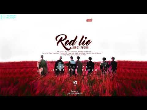 [Vietsub/Kara] BTOB(비투비) - Red Lie (2nd Full Album -