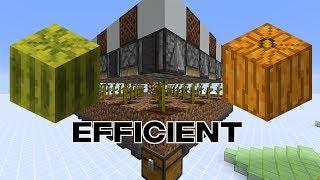 New Efficient Simple Melon/Pumpkin Fąrm For 1.14